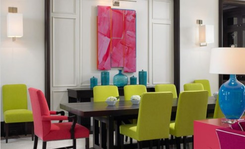 Color Block with Furniture