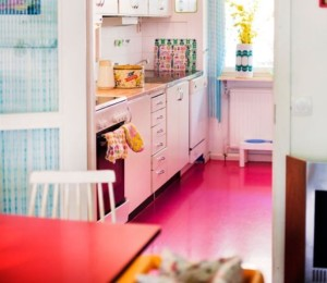 Hot Pink Kitchen