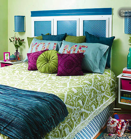 Where To Put Decorative Bed Pillows At Night : How to Display Pillows on Your Bed! - oh, decor!