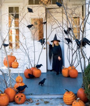 DIY Chic Halloween Pumpkin Decorating - oh, decor!