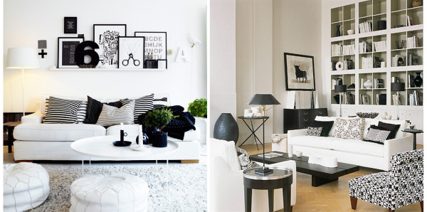 black and white neutrals