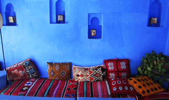 Gallery For Blue Moroccan Bedroom