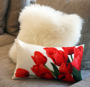 Textured Pillow Decor