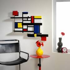 Mondrian Shelves