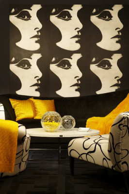 warhol inspired interior