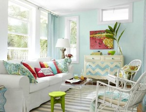 Summer tropical decor